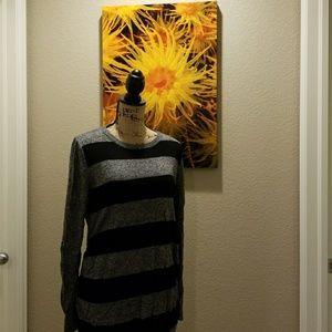 Maternity crew neck sweater